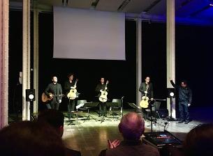 Luiz Castelões & Aleph Guitar Quartet (Festival Mixtur 2019) Foto - E. Thomazi
