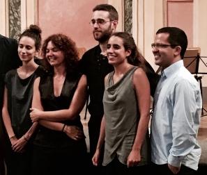 Luiz Castelões & Quartetto Maurice (2016) Foto - D. Privitera