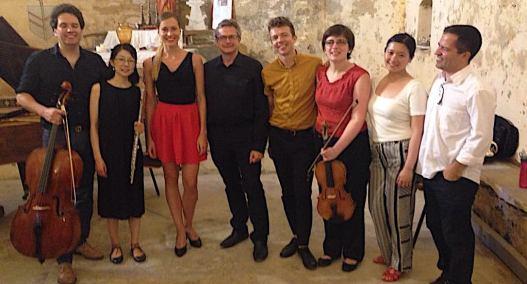 Luiz Castelões & Linea Ensemble (Etchings Festival 2019)