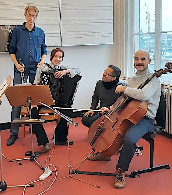Luiz Castelões & Roadrunner Trio (2020) Foto - L. Ameal