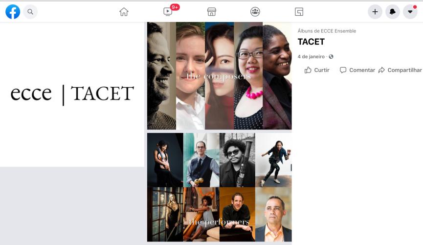 Tacet (Ecce Ensemble, 2021)